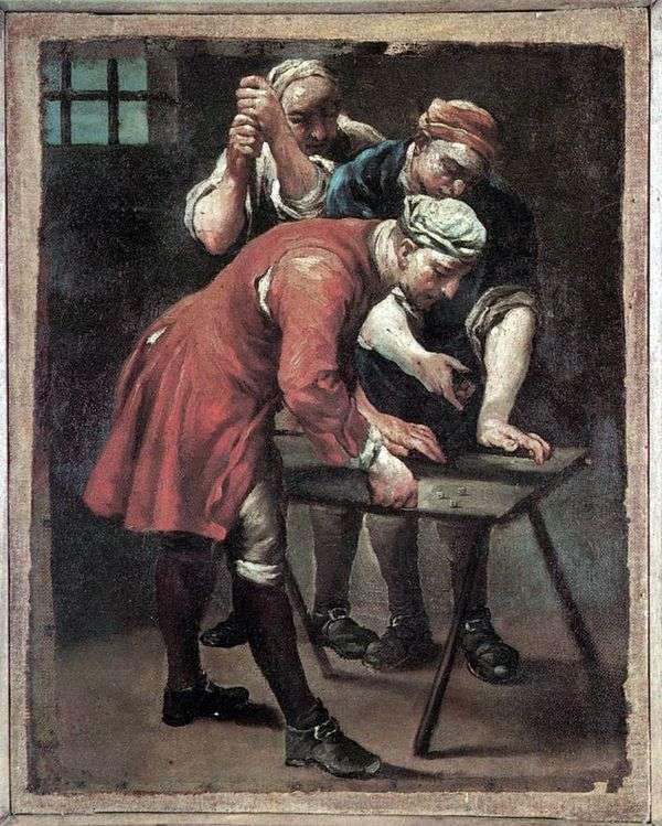Игроки в кости   Джузеппе Мария Креспи