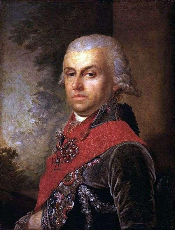 Портрет Д. П. Трощинского   Владимир Боровиковский