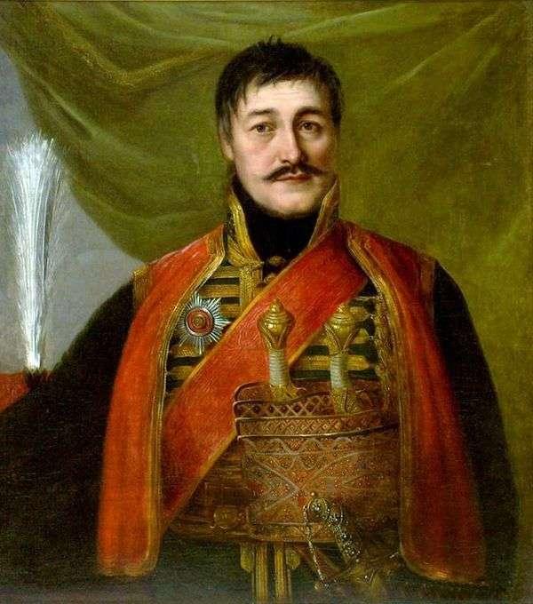 Портрет Карагеоргия   Владимир Боровиковский