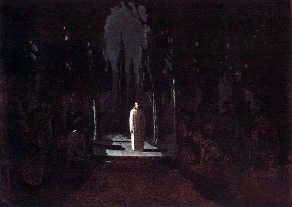 Христос в Гефсиманском саду   Архип Куинджи