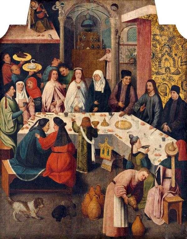 Брак в Кане Галилейской   Иероним Босх