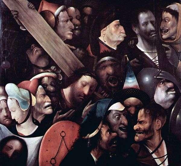 Несение креста   Иероним Босх