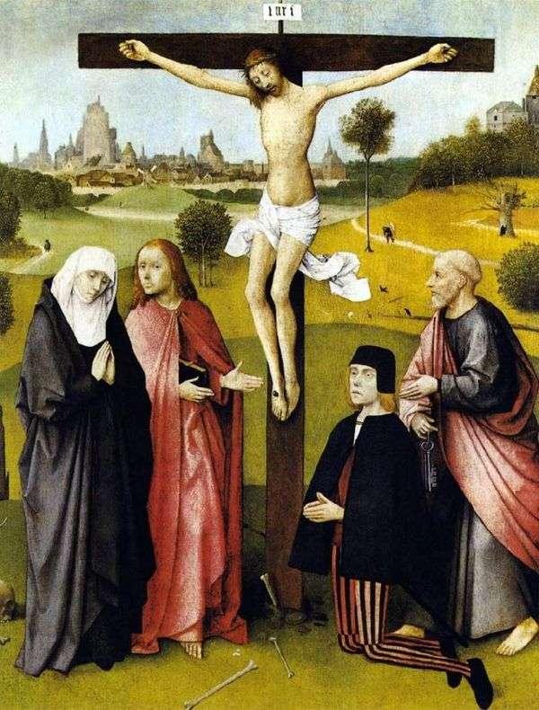 Распятие Христа   Иероним Босх