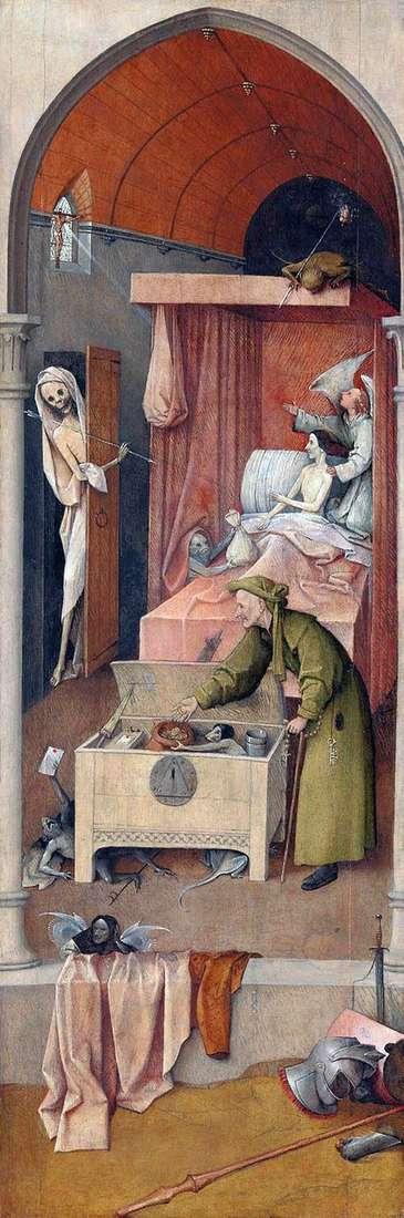 Смерть и Скупой   Иероним Босх