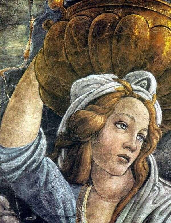 Дочь Иофора (фрагмент)   Сандро Боттичелли