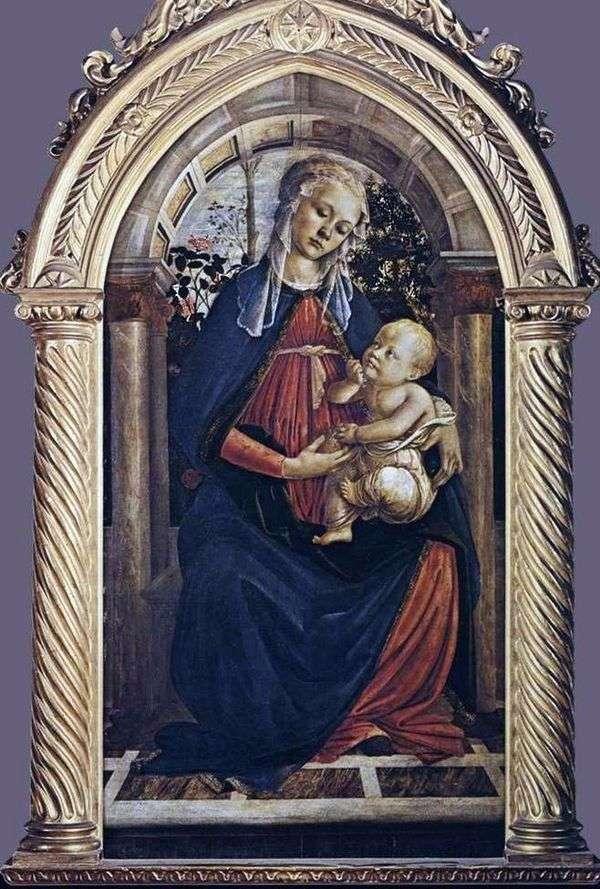 Мадонна в розарии   Сандро Боттичелли
