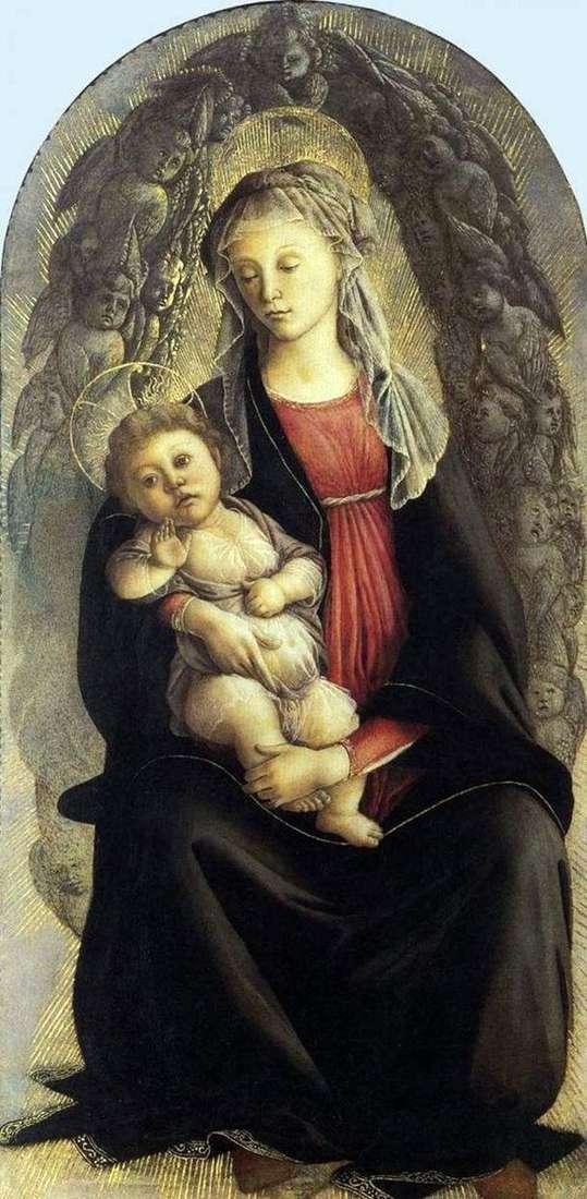 Мадонна во славе   Сандро Боттичелли