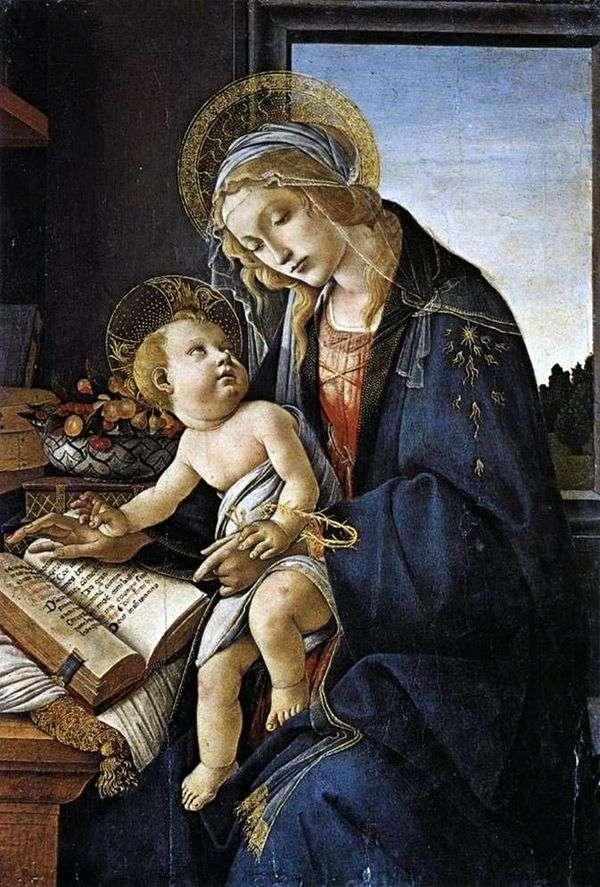 Мадонна с книгой   Сандро Боттичелли