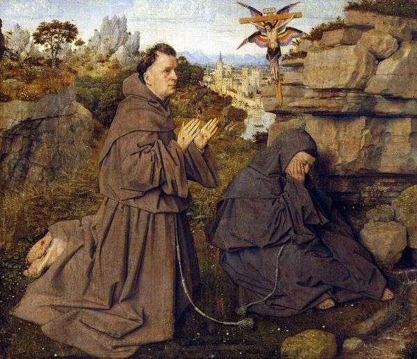 Стигматизация святого Франциска   Ян ван Эйк