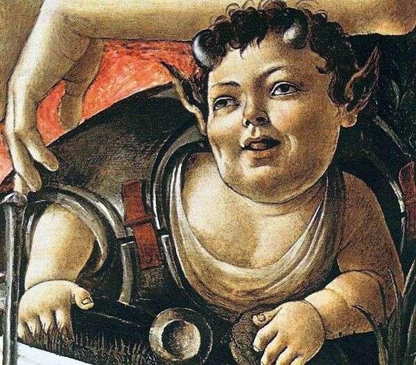Сатир проказник (фрагмент)   Сандро Боттичелли