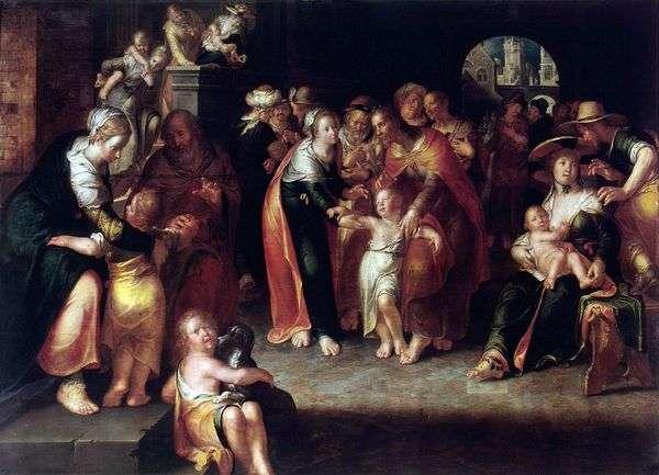Христос и дети   Иоахим Эйтевал