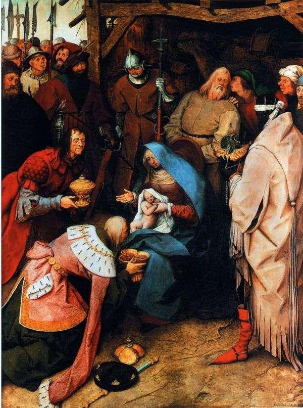 Поклонение волхвов   Питер Брейгель