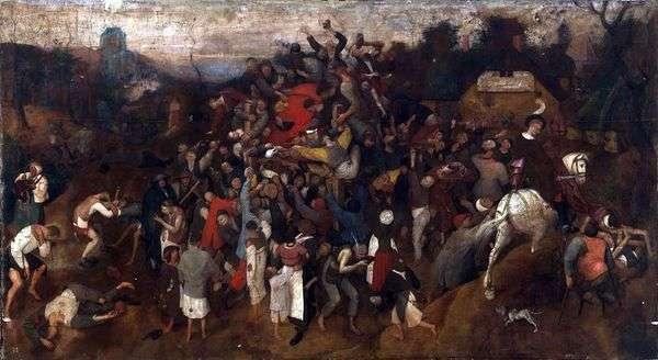 Праздник Святого Мартина   Питер Брейгель