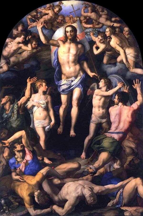 Воскресение Христа   Аньоло Бронзино