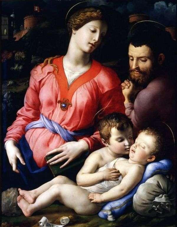 Святое семейство Панчиатики   Аньоло Бронзино