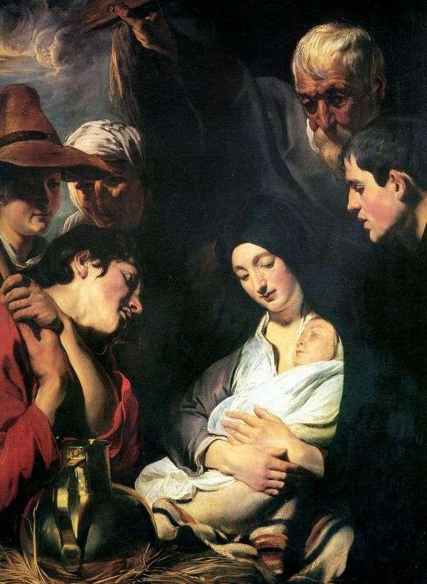 Поклонение пастухов   Якоб Йорданс