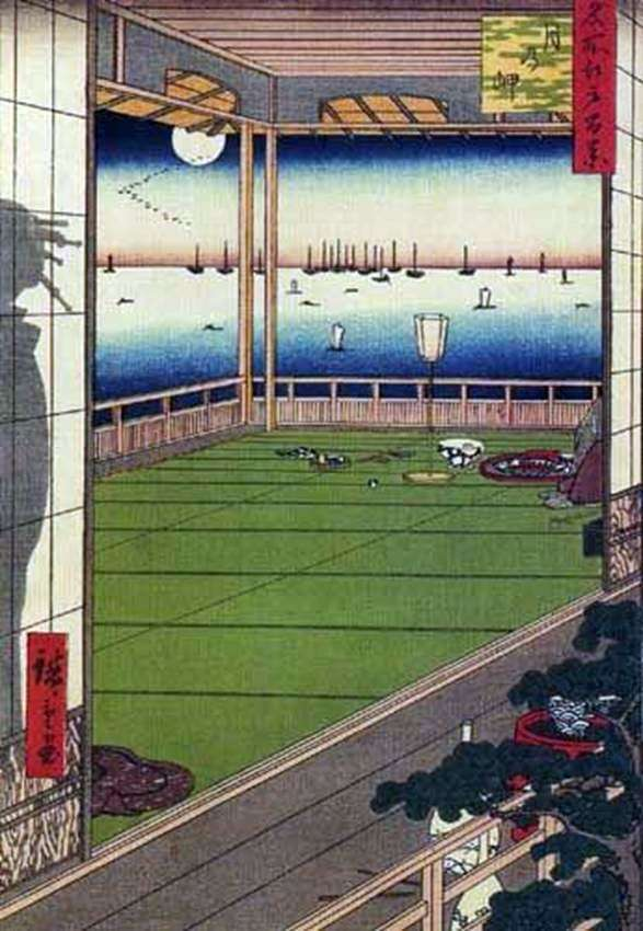 Луна над мысом   Андо Хиросигэ