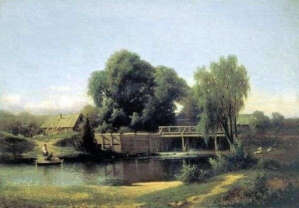 У плотины   Лев Каменев