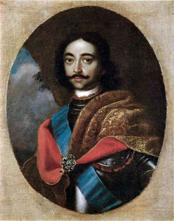 Портрет Петра I   Адольский Иван