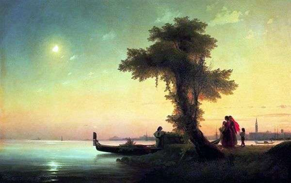 Вид на венецианскую лагуну   Иван Айвазовский