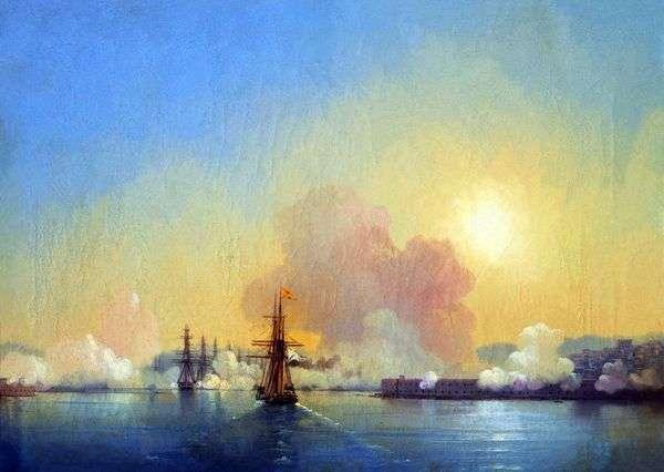 Вход в Севастопольскую бухту   Иван Айвазовский