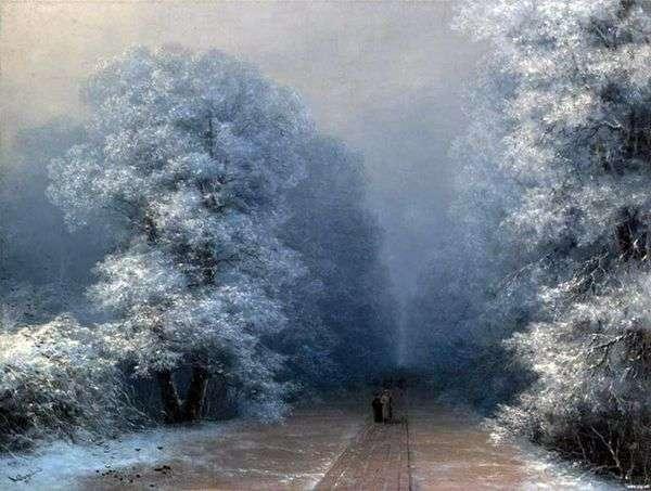 Зимний пейзаж   Иван Айвазовский