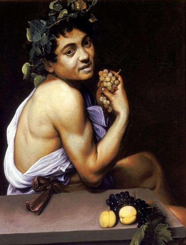 Больной Вакх   Микеланджело Меризи да Караваджо