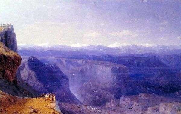Кавказ   Иван Айвазовский