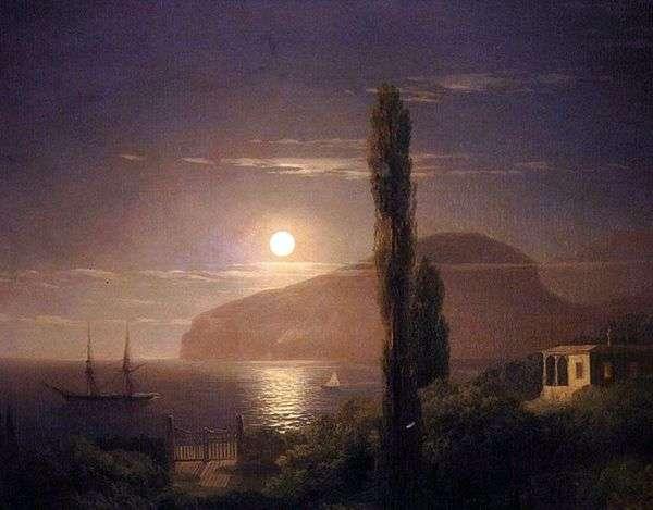 Лунная ночь в Крыму   Иван Айвазовский