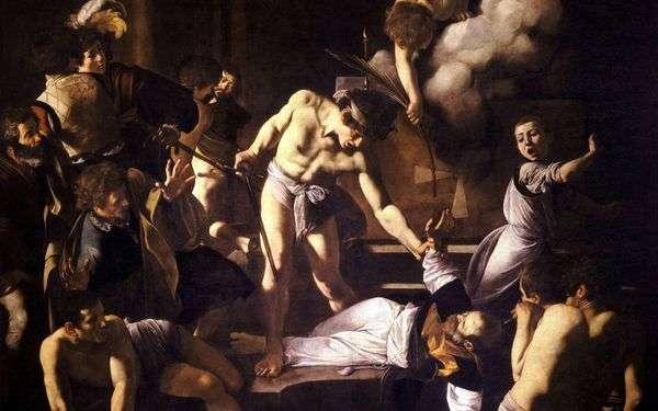 Мученичество святого Матфея   Микеланджело Меризи да Караваджо