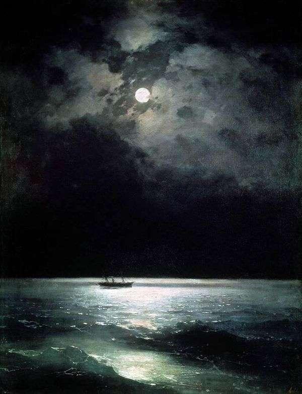 Черное море ночью   Иван Айвазовский