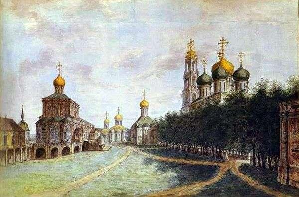 Троице Сергиева лавра   Федор Алексеев