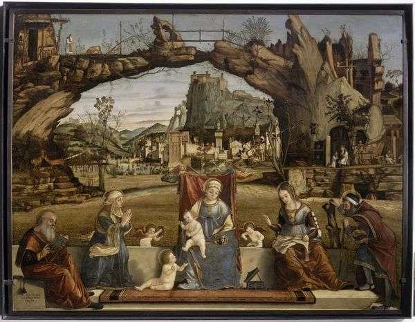 Мадонна с младенцем и святые   Витторе Карпаччо