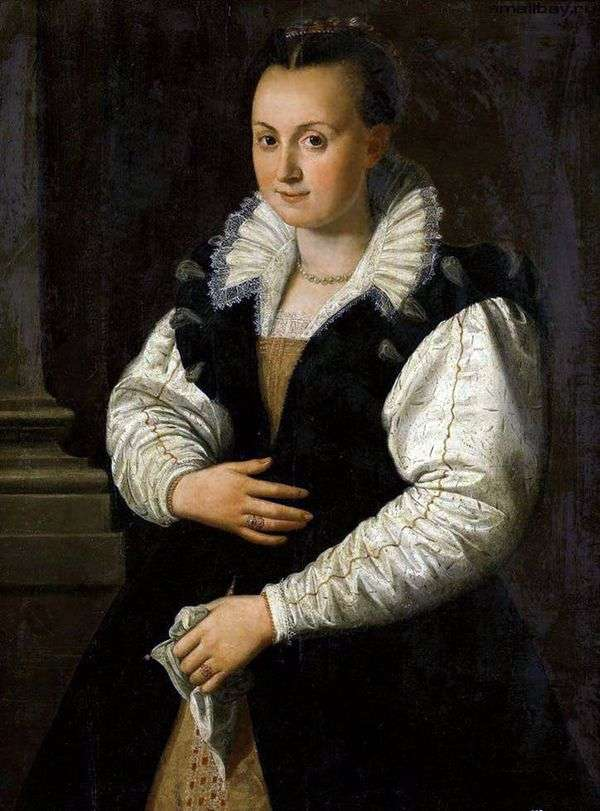 Портрет дамы   Алессандро Аллори
