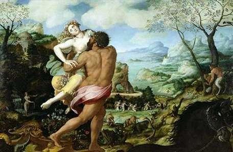 Похищение Персефоны   Алессандро Аллори