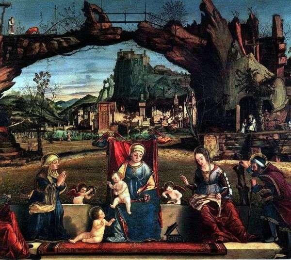 Святое собеседование   Витторио Карпаччо