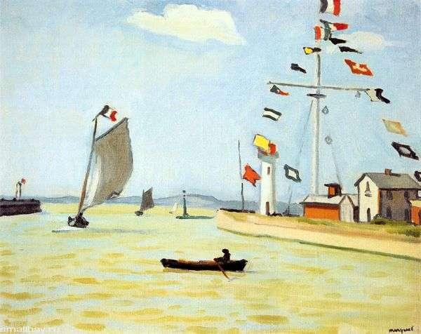 Порт в Онфлере   Альбер Марке
