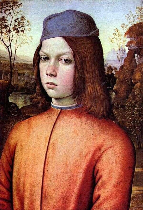 Портрет мальчика   Пинтуриккио