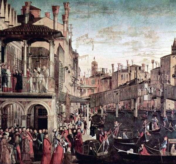Чудо реликвии Святого Креста   Витторе Карпаччо