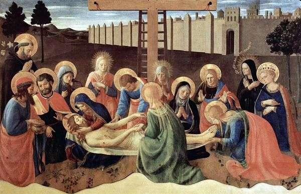 Снятие с креста   Фра Беато Анджелико