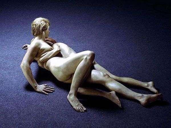 Влюбленные. Скультура   Джон де Андреа