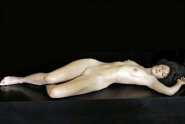 Лиза. Скультура   Джон де Андреа