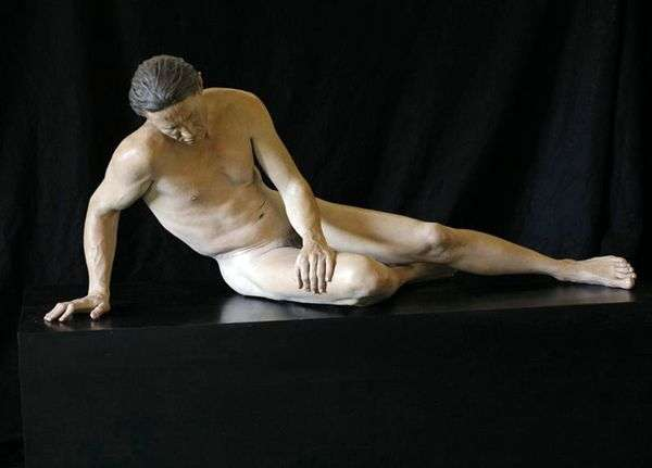 Умирающий галл. Скультура   Джон де Андреа