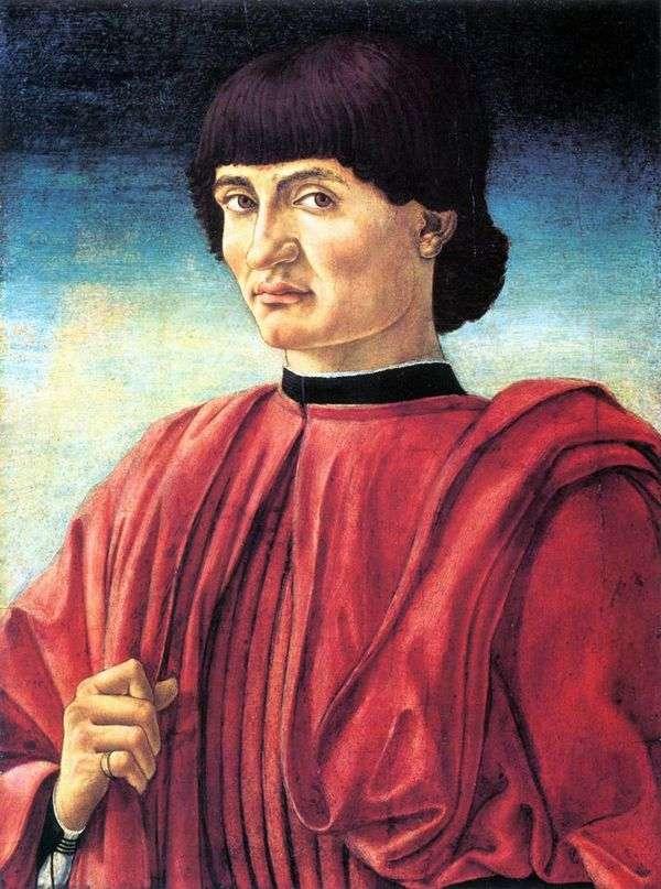 Мужской портрет   Андреа Кастаньо
