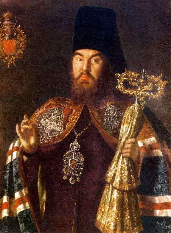 Портрет архиепископа С. Кулябки   Алексей Антропов