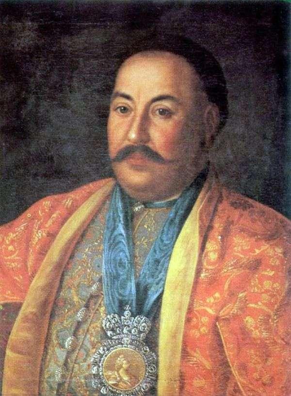 Портрет атамана Ф. И. Краснощекова   Алексей Антропов
