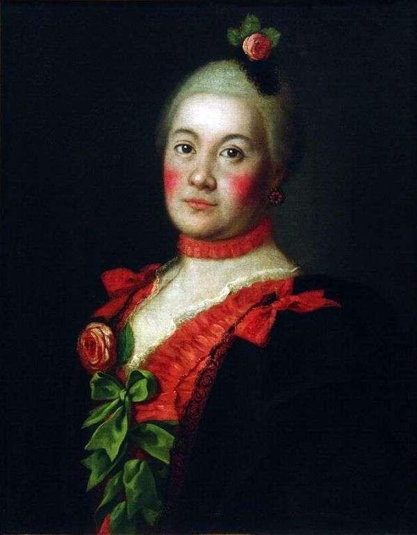 Портрет княгини Т. А. Трубецкой   Алексей Антропов