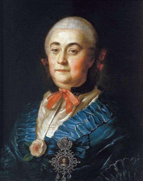 Портрет статс дамы Анастасии Михайловны Измайловой   Алексей Антропов