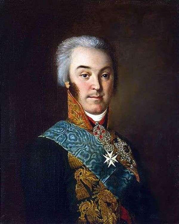 Портрет Н. П. Шереметьева   Иван Аргунов
