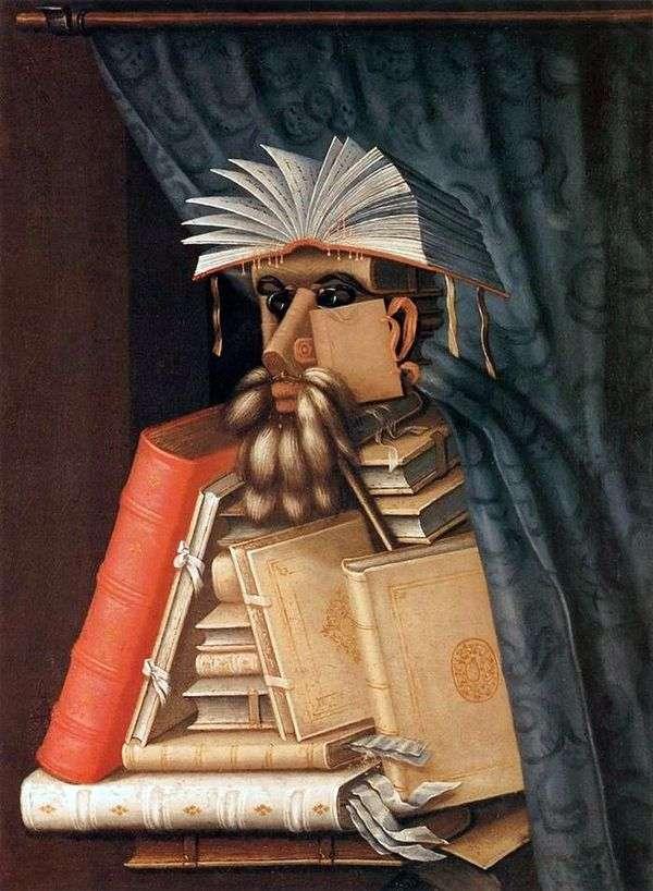 Библиотекарь   Джузеппе Арчимбольдо